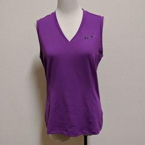 Women Nike golf dri-fit size medium purple